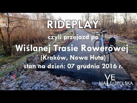 RIDEPLAY, Czyli Przejazd Po Wiślanej Trasie Rowerowej (Kraków, Nowa Huta)