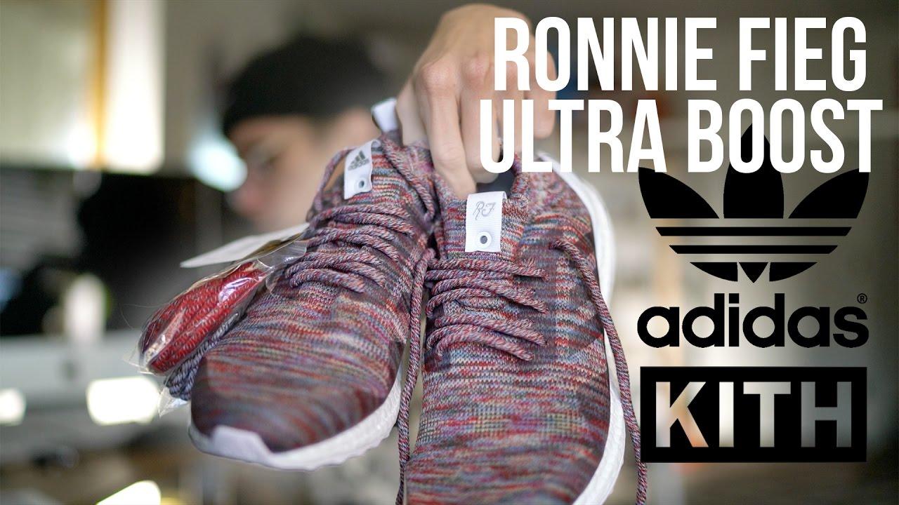 best service 67f94 4dbb0 Ronnie Fieg Ultra Boost | Kith Adidas Collab + On Feet