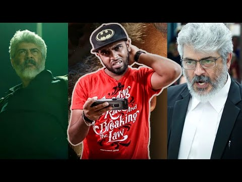Nerkonda Paarvai Trailer Reaction & Review By A Thalapathy Fan – Ajith Kumar |Marana Honest Review😅