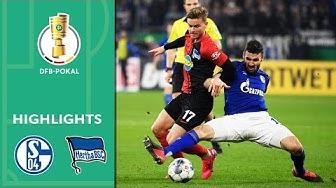FC Schalke 04 - Hertha BSC 3:2 | Highlights | DFB-Pokal 2019/20 | Achtelfinale