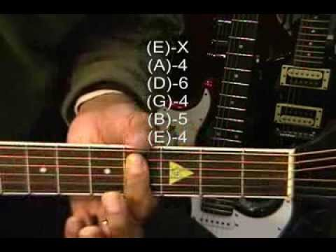 Toto Style AFRICA Guitar Chord TABS Tutorial #134 Chords Lesson Instruction