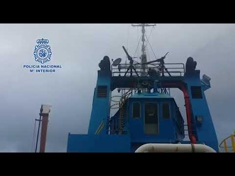 SPAGNA-La polizia Nazionale e DEA intercetta una barca carica di circa 1400 chili di cocaina