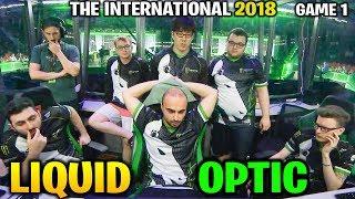 LIQUID vs OPTIC TI8 - CRAZY MINUS ARMOR - THE INTERNATIONAL 2018 -Game 1