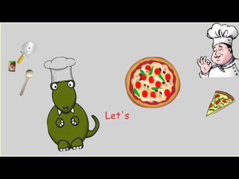 Let's Make A Pizza (How To/ Recipe/ Procedure Song)