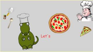 Let&#39s make a pizza (How to recipe procedure song)