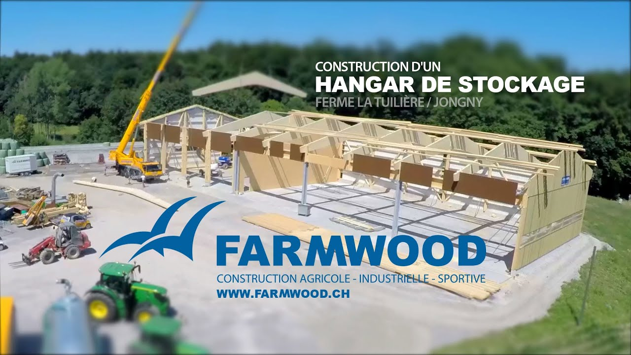 farmwood construction d 39 un hangar de stockage youtube. Black Bedroom Furniture Sets. Home Design Ideas
