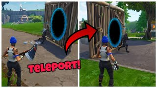 New Teleportation Glitch (Working) Fortnite Glitches Saison 5 Ps4/Xbox one 2018