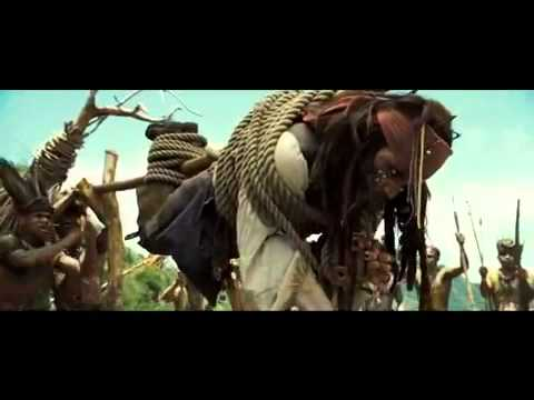 Pirates of the Caribbean: Dead Man's Chest - Cannibal Tribe Fire Scene