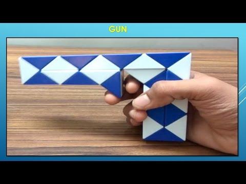 Rubik's Twist Or Snake Puzzle Tutorial - GUN By Dev Prajapati