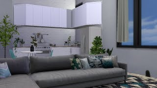 The Sims 4: Строительство -- Маленькая квартира с доп. контентом