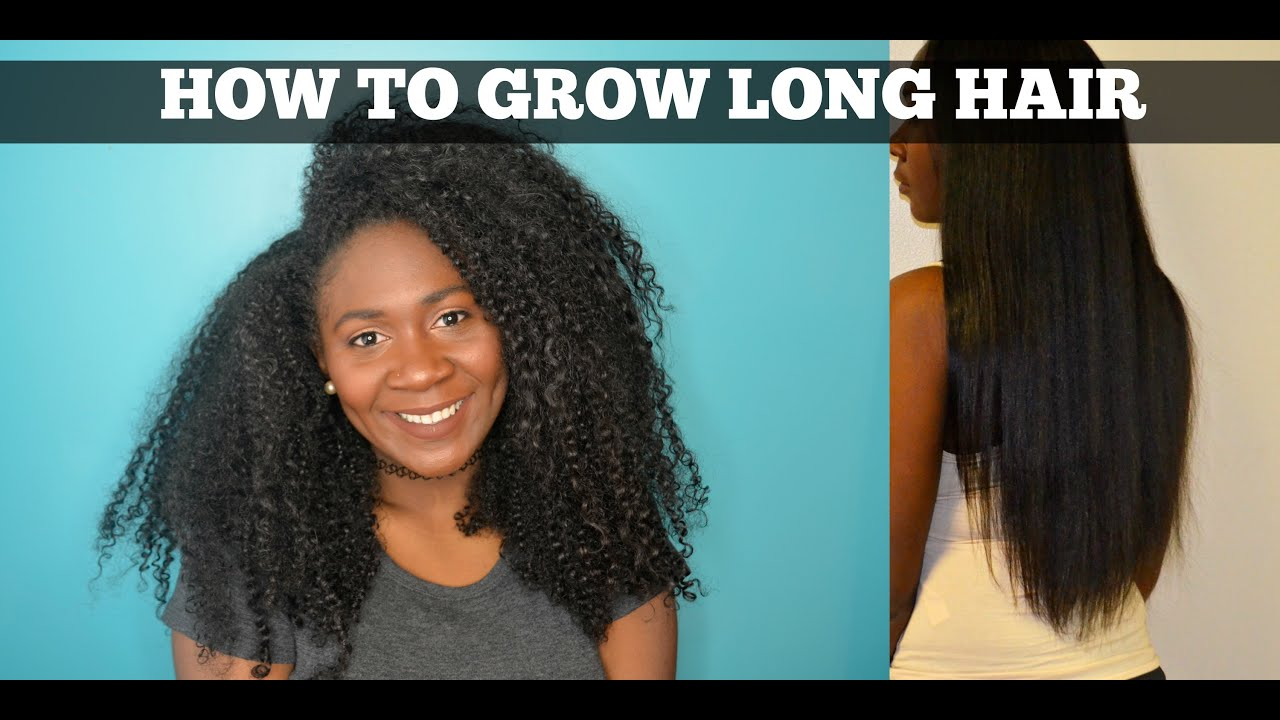 HOW TO GROW CURLY LONG HAIR
