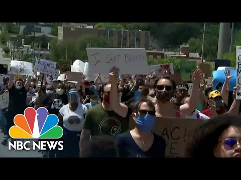George Floyd Protesters Echo Same Hope For Progress As Protests From Years Before | NBC Nightly News
