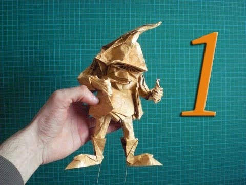 Eric Joisel Origami Mermaid Diagram Dual Battery Wiring Boat Dwarf Detail Tutorial Part 1 Youtube