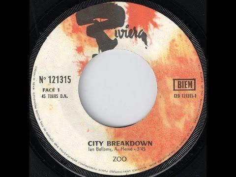 Zoo - City Breakdown [Riviera] 1970 French Jazz Rock 45