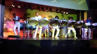 Silver Bird Steel Drum Orchestra 8 5 13 Riu Mo Bay Jamaica