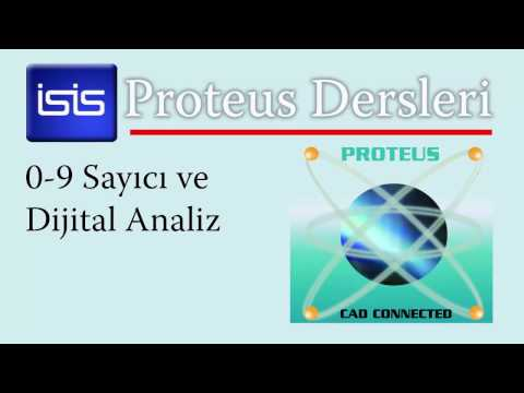 Ders 1.7  0-9 Sayıcı Ve Dijital Analiz Mode 10 Up Counter And Digital Analysis In Proteus