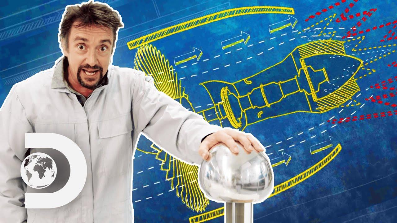Richard Hammond Talks Turbojets and Static Electricity | Richard Hammond's Big