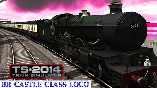 TS2014 BR Castle Class Loco Add-On - Model Details HD