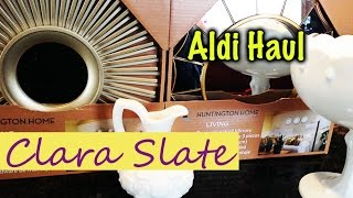 ☆ Aldi & Thrift Haul Mid April 2015 ☆ Meal Plan, Milk Glass Finds!