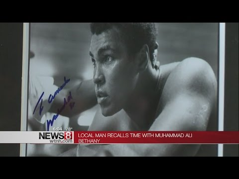 Local man recalls time with Muhammad Ali
