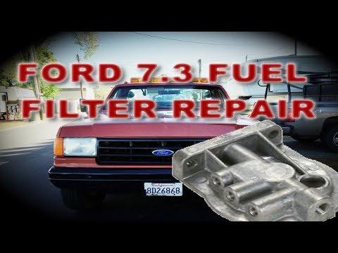 NEW OEM 1999-2003 Ford F-250 F-350 Diesel 7.3L Fuel Heater External WIF Sensor