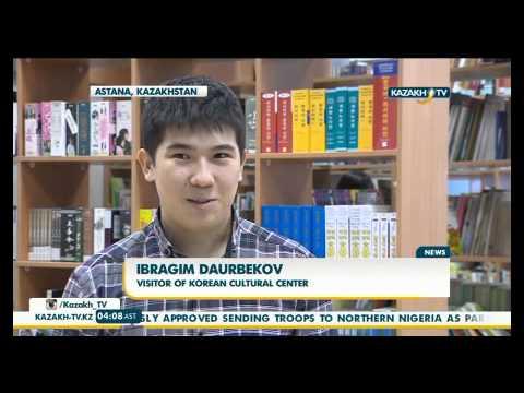 Kazakh people show growing interest to Korean culture