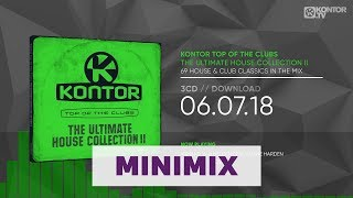 Kontor Top Of The Clubs – The Ultimate House Collection II (Official Minimix HD)