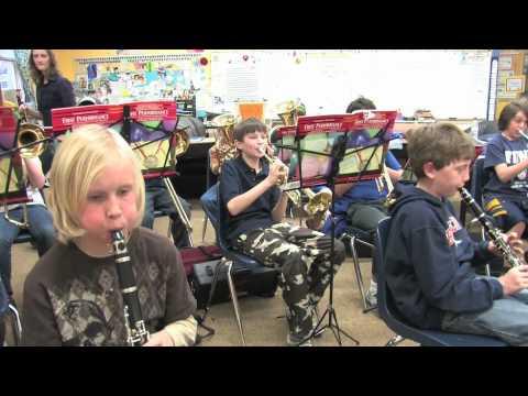 Whittier International Elementary 5th Grade Brass and Winds Class