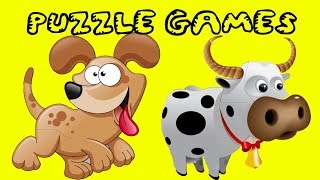 Puzzle Game For Kids 2017 | Video For Children | Learn color Play Games songs