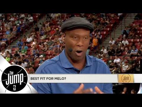 Byron Scott: I can't think of a team Carmelo Anthony would fit well on | The Jump | ESPN