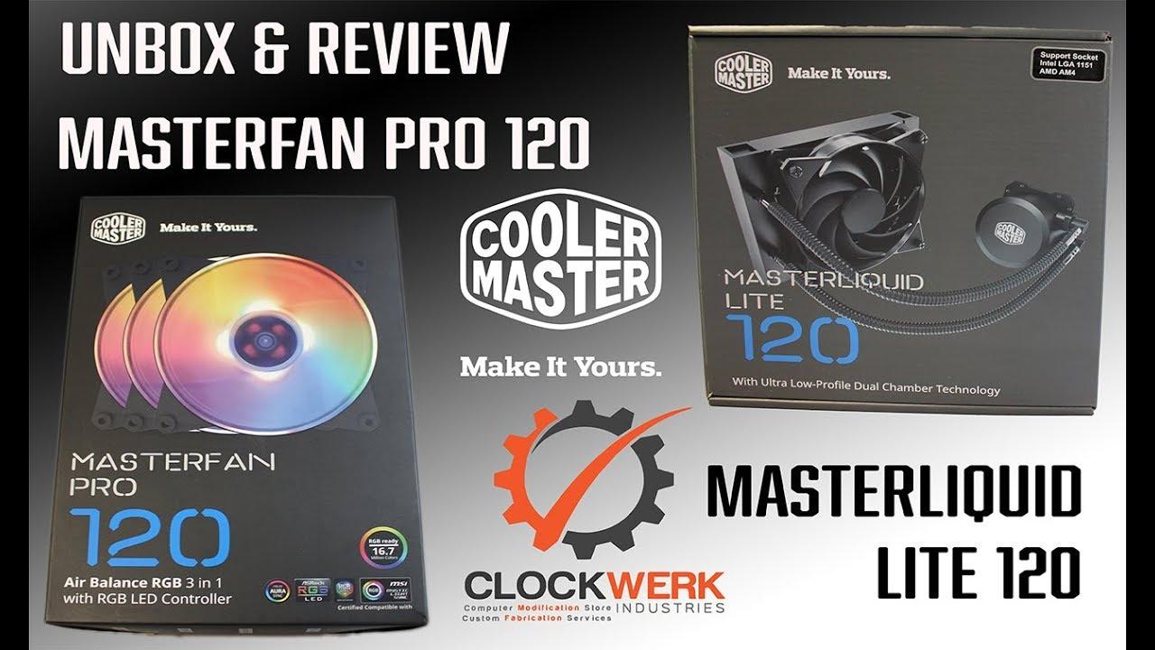 MasterLiquid Lite 120 | Cooler Master