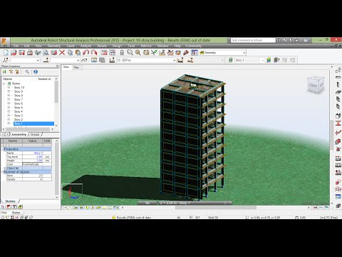 04-2 - Robot Structural Analysis Professional (Wind Simulation& Seismic loads)