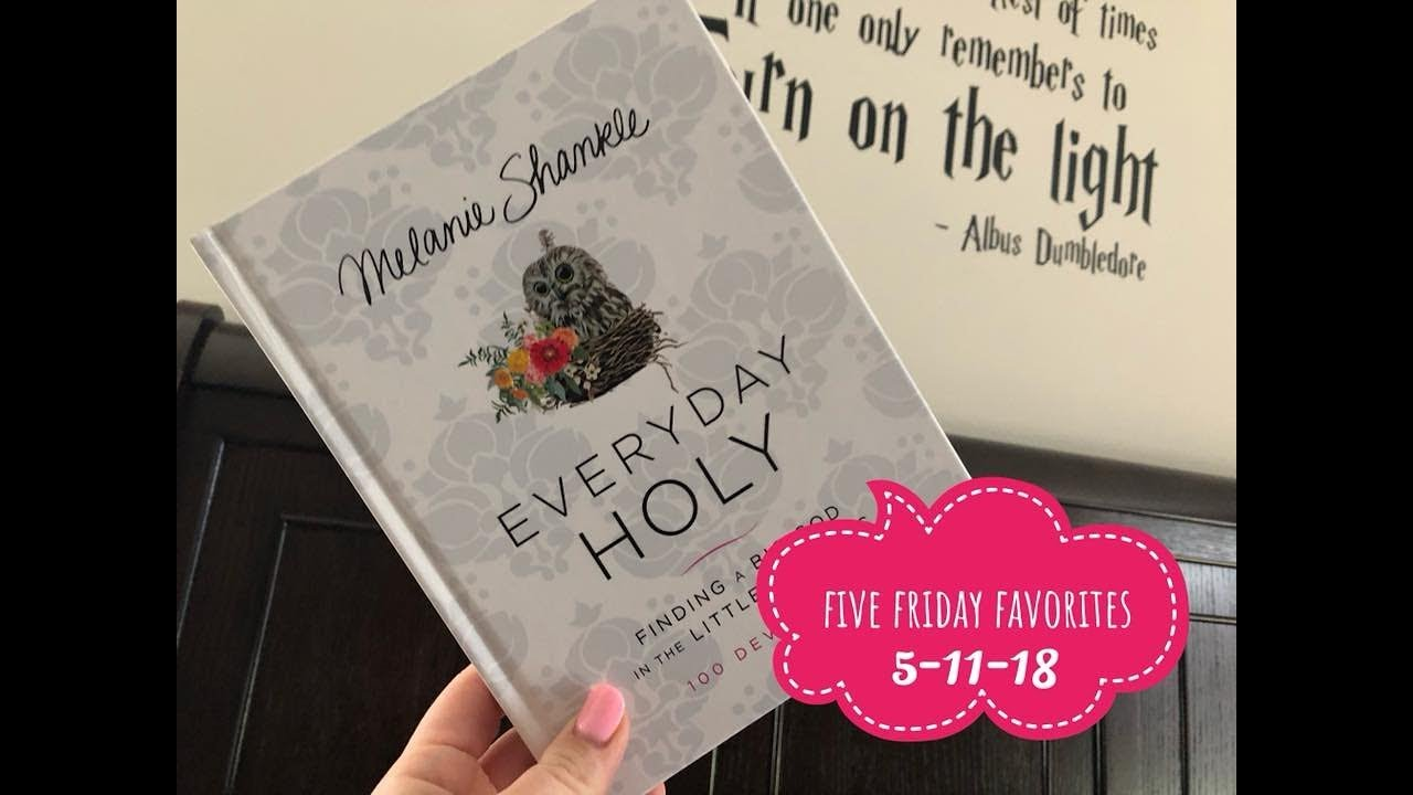 Five friday favorites makeup books and houseware youtube