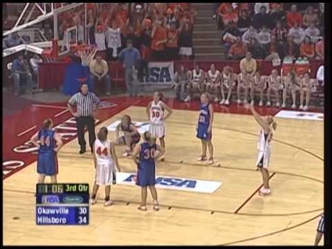 2006 IHSA Girls Basketball Class A Championship Game: Hillsboro vs. Okawville