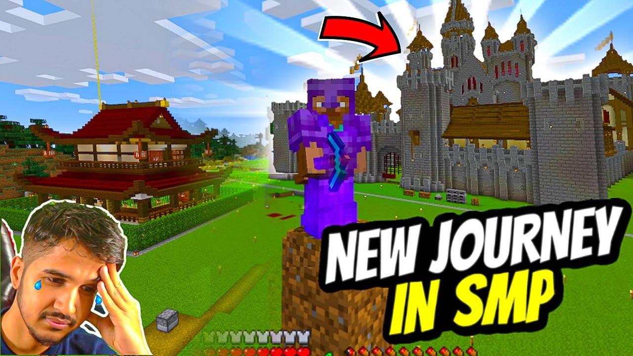 Starting My New Minecraft Journey || Full Netherite Armor || Desi Gamers - Desi SMP