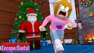 Roblox fuga di Babbo Natale con Molly!