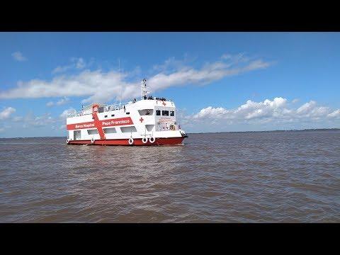 Barco Hospital Papa Francisco: un mensaje de esperanza que surca el Amazonas