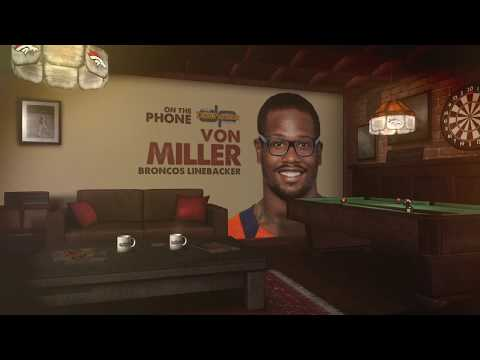 Denver Broncos LB Von Miller On The Dan Patrick Show | Full Interview | 9/5/17