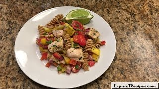 Cilantro-lime Pasta Salad - Lynn's Recipes