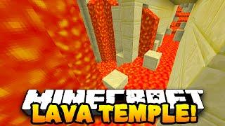 Minecraft LAVA TEMPLE PARKOUR CHALLENGE! w/PrestonPlayz