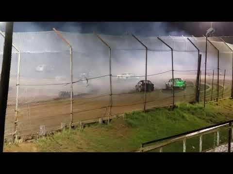 Eco Stock Heat Race @ 105 Speedway 3/6/19