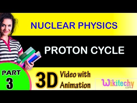 Proton Cycle | Nuclear Physics |class 12 physics subject notes lectures|CBSE|IITJEE|NEET