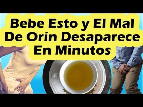 COMO QUITAR EL MAL DE ORIN EN MINUTOS | Remedios Caseros Para La Infeccion Urinaria o Mal De Orin