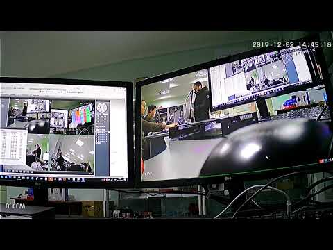 Пример съемки камеры Full HD Wi-Fi Комплекта видеонаблюдения UKC DVR KIT CAD-6673WiFi