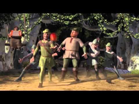 Shrek robin hood french français