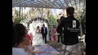 Свадьба онлайн 2015.  Свадьба лучшего друга. Летняя свадьба. Любовь - морковь