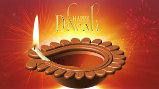 Happy Diwali Motion Graphics-Animated Background Video