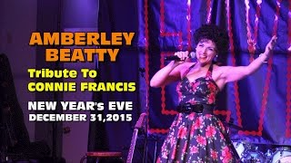 Video Amberley Beatty Tribute to Connie Francis - New Year's Eve 2015 download MP3, 3GP, MP4, WEBM, AVI, FLV Juni 2018
