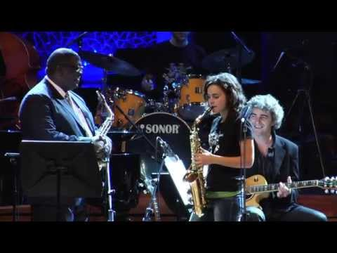 ALL TOO SOON  ANDREA MOTIS JESSE DAVIS SANT ANDREU JAZZ BAND JOAN CHAMORRO DIRECCION