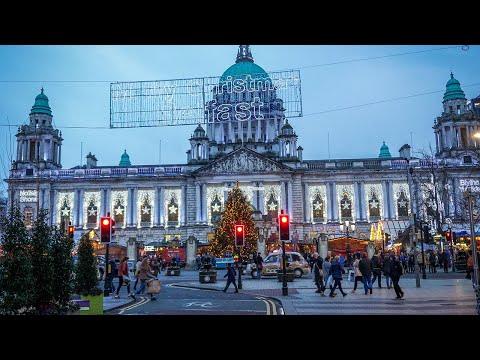 Tour Of Belfast Christmas Market At City Hall (Northern Ireland)